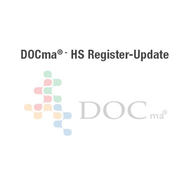 DOCma – HS Register-Update